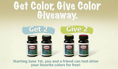 Get free paint testers from Glidden