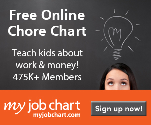 Free Online Chore Charts for Kids