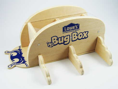 Free Lowe's Build and Grow Clinic: Bug Box