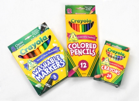 Enter the Crayola Goes Green Giveaway