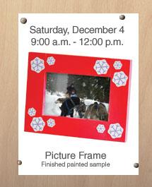 Free Home Depot Kids Workshop: Picture Frame