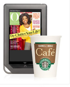 Free coffee at Barnes & Noble