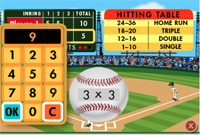 Everyday Math Baseball App