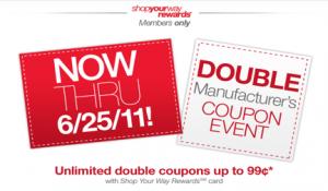 Kmart Double Coupon EventKmart Double Coupon Event