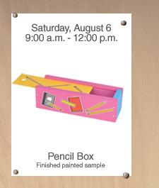 Home Depot Kids Workshop: Pencil Box