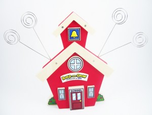 free School House Photo Holder project