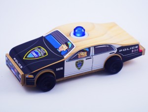 Make a toy Police Car for Free at Lowe's