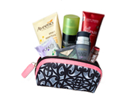 Free Beauty Bag with Samples