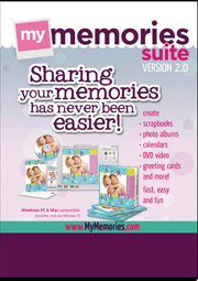 Use the code STMMMS14599 to save on My Memories Suite