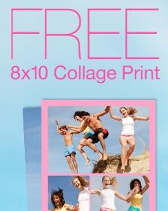 free collage print at Walgreens