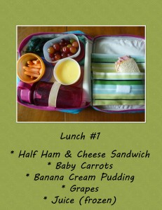 Greener School Lunch Ideas
