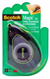 Scotch Magic Tape One-Handed Dispenser