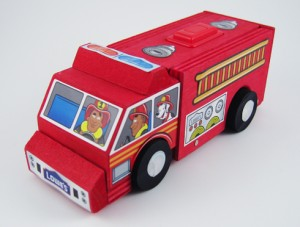 Lowe's Build & Grow Clinic Fire Truck