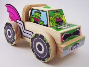 free Halloween Monster Truck Project