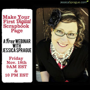Free Digital Scrapbooking Webinar