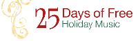 25 Days of Free Holiday Music