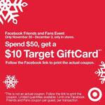 Target Gift Card coupon