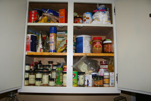 Organizing on a Budget: Facing the Spices