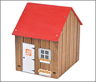Savings Shed project at Home Depot