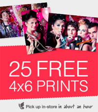 Get 25 Free Photo Prints at Walgreens