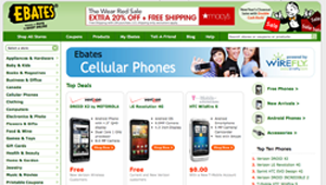 Saving Money on Cell Phones with Ebates