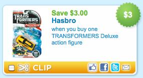 Transformers Coupon