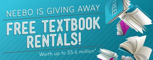 Neebo free college textbook rental
