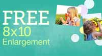 Free photo enlargement at Walgreens