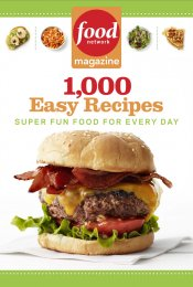 Review: Food Network Magazine 1,000 Easy Recipes