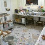 Final pottery class