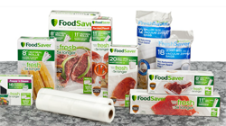 FoodSaver bags and rolls