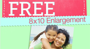 Free photo enlargement