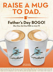 Caribou BOGO Father's Day
