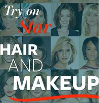Celebrity Virtual Makeover