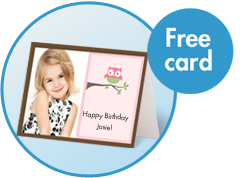 Snapfish free card