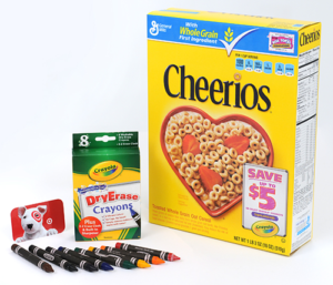 Crayola General Mills Target gift pack