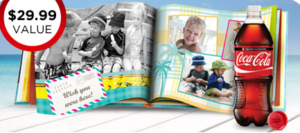 Shutterfly Photo Book from MyCokeRewards