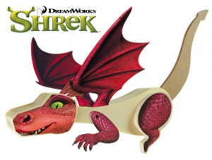 Shrek Dragon Ride
