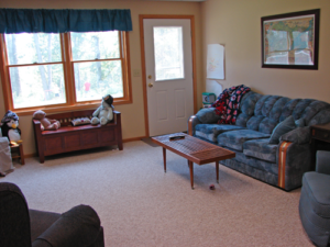 Finished Family Room Makeover