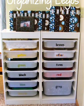 Ideas for Organizing Legos