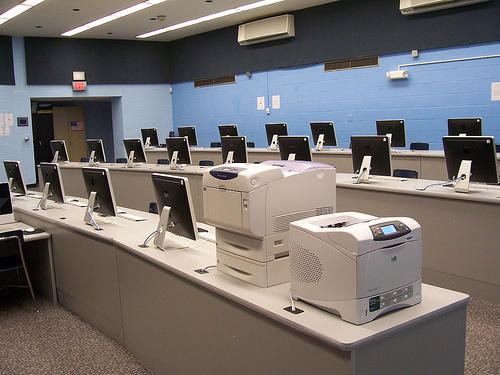 A computer lab