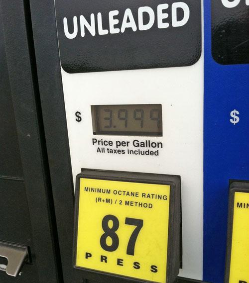 Four Dollar Gas
