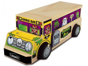 Lowe's Build & Grow Ghoul Bus