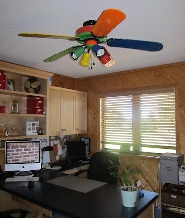 Getting it Done: How to Paint a Ceiling Fan