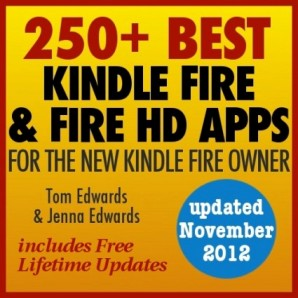 Free Kindle Book:  250+ Best Kindle Fire and Fire HD Apps