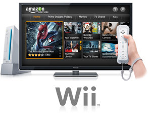 Amazon Instant Movies on the Wii