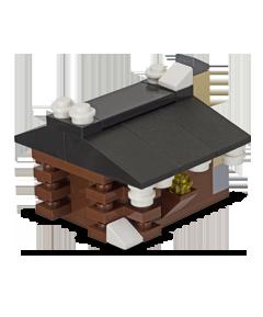 Free LEGO mini build: Log Cabin