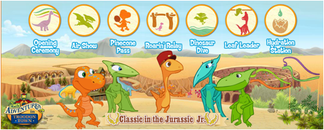 Free Dinosaur Train printables and games