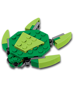 Free LEGO Mini Build: Sea Turtle