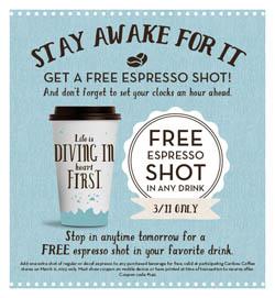 Free Espresso Shot